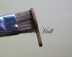 Hambleton Hall: How to make a hairbrush