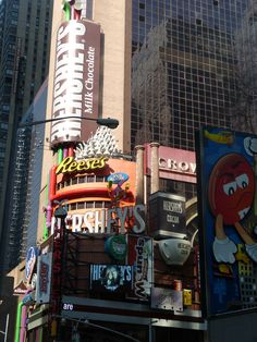 The Hershey Store in Times Square