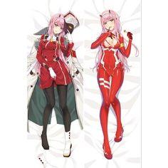 DARLING in the FRANXX Zero Two Anime Dakimakura Hugging Body Pillows Covers Case
