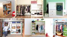 Praktische Kleiderschränke im Kinderzimmer nach Montessori | Eltern vom Mars | Bloglovin'