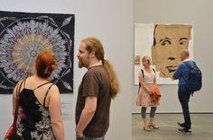 Taidemuseon näyttely Quilt Visions esittelee kahdeksan ansioitunutta ja ajankohtaista amerikkalaista tekstiilitaiteilijaa, jotka tulevat eri puolilta Yhdysvaltoja. Luuppi, Oulu (Finland)