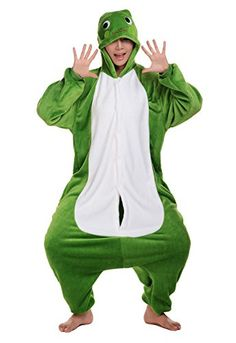Introducing Tonwhar Frog Sleepsuit Pajamas Costume Cosplay Homewear Lounge Wear Xlheight180cm59186cm61. Get Your Ladies Products Here and follow us for more updates!