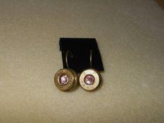 Bullet shell Earrings/Remington Peters by CreationsbyMaryEllen