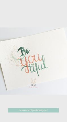 original hand lettering on A5 aquarell paper; Brushpen.   #quotesoftheday #designlover #lovedailydose #lovely #friday #weekend #friyay #yay #lettering #handlettering #diy #handwriting #austrianblogger #blog #bloggers #igers #vienna #wien #schrift #typography #letters #create #creative #art Typography Letters, Hand Lettering, Friday Weekend, A5, Vienna, Handwriting, Creative Art, Create, Paper