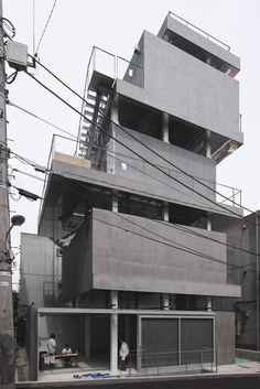 Jingumae Building Chuoarchi, Japan