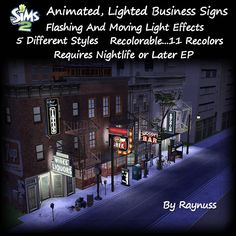 Imagine That!: Animated Business Signs