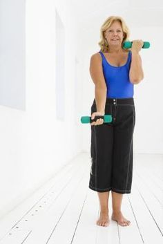 Firming Upper Arm Exercises for a 60 Year Old Woman