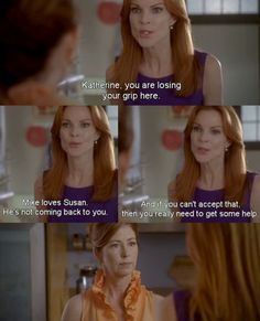Bree and Katherine season 6 Desperate Housewives