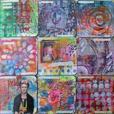 Frieda Oxenham: Art Cards 170 - 178