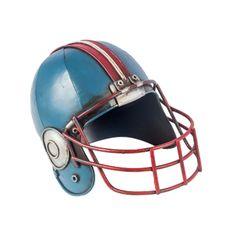 Réplica De Capacete Futebol Americano Azul  http://4macho.com/presentes-criativos-para-namorado-top-50/