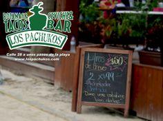 Los Pachukos playa del carmen, calle 28 a unos pasos de mamitas beach club