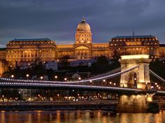 https://flic.kr/p/Pa8UNs | Budapest-Buda Palace-Chain Bridge