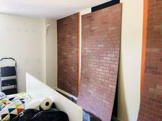 How to install faux brick paneling wall paneling how to make reion wooden panelling moisture resistant mdf panel Brick Design Paneling ZosmunHarry Potter In The Faux Brick Wall Panels, Fake Brick Wall, Brick Wall Paneling, Black Brick Wall, Faux Walls, Brick Walls, Beadboard Wainscoting, Brick Design, Decoration