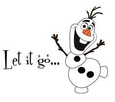Frozen OLAF Snowman Black 2 Car Truck VINYL Decal Art Wall