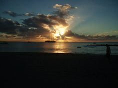 Nevis, another awesome sunset
