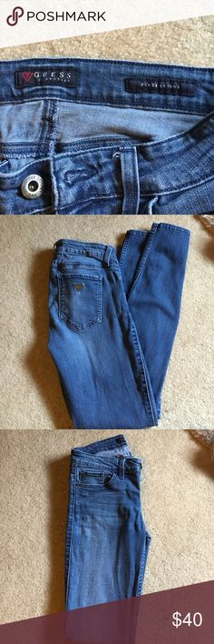 Guess Power Skinny Jeans 26R. Super comfy skinny Jeans Guess Jeans Skinny