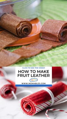 Easy homemade fruit leather recipe made with strawberries and honey. No sugar added fruit roll ups for the perfect afternoon snack. Strawberry Recipes, Fruit Recipes, Candy Recipes, Snack Recipes, Homemade Fruit Leather, Fruit Leather Recipe, Healthy Snacks For Kids, Easy Snacks, Healthy Fruit Roll Up Recipe