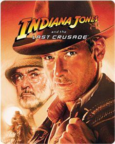 Indiana Jones et la dernière croisade en blu-ray métal édition limitée