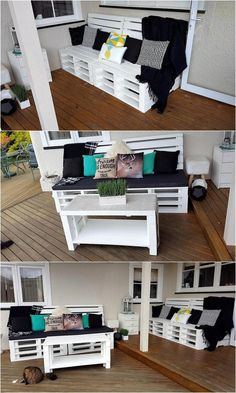 Old Pallets Ideas pallet-patio-furniture - As I have mentioned earlier that our wood pallet recycling has transformed to the extent that we are no more confined to some mere isolated. Outdoor Pallet Projects, Pallet Patio Furniture, Pallet Sofa, Reclaimed Wood Furniture, Recycled Furniture, Plywood Furniture, Diy Furniture, Pallet Ideas, Old Pallets
