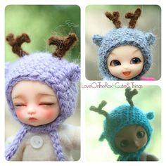 deer hats Bjd Dolls, Deer, Crochet Hats, Inspiration, Art, Knitting Hats, Biblical Inspiration, Art Background, Kunst