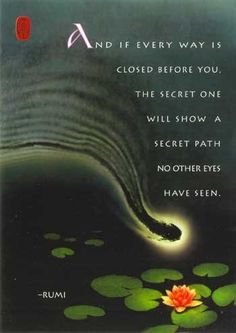 a secret path - shown only to you...