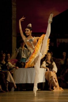 Victoria Ananyan in Don Quixote. Photo by Angela Sterling.