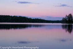 Sunset in the BWCA by HeartlandPhotoBySJW, $12.00