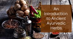 An Introduction to Ancient Ayurvedic Herbs