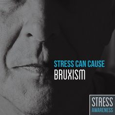 CHRONIC TEETH GRINDING, or bruxism, can cause dental damage and constant headaches. #stressawarenessmonth #parkridgedentist