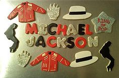 Michael Jackson cookies for my nephew's birthday. 10th Birthday Parties, 8th Birthday, Michael Jackson Party, Michael Jackson Merchandise, Cookies Et Biscuits, Sugar Cookies, Party Themes, Theme Parties, Party Ideas