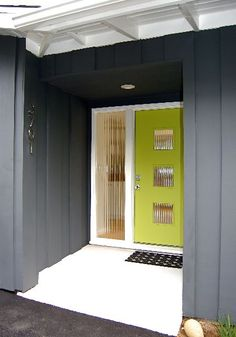 Image result for 1950s ranch house entry door