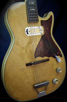 Vintage Harmony H 48 H48 Stratatone Guitar GRLC1097
