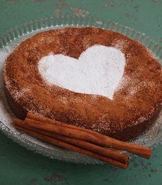 It All Tastes Greek To Me: Vegan Cinnamon - Orange Cake