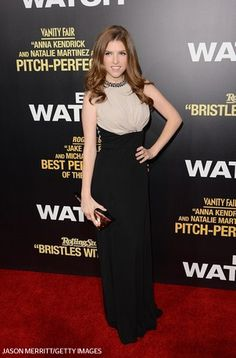 Actress Anna Kendrick arrives at the premiere of  'End of Watch' at Regal Cinemas L.A.