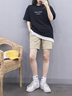 korean fashion trends that looks great. 71332 korean fashion trends that looks Korean Girl Fashion, Korean Fashion Trends, Ulzzang Fashion, Korean Street Fashion, Tomboy Fashion, Teen Fashion Outfits, Korea Fashion, Japan Fashion, India Fashion