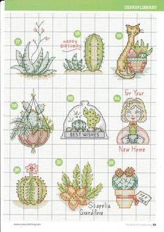 ru / Фото - The world of cross stitching 237 - tymannost - Gallery.ru / Фото – The world of cross stitching 237 – tymannost Cactus Cross Stitch, Tiny Cross Stitch, Cross Stitch Bookmarks, Cross Stitch Cards, Cross Stitch Flowers, Cross Stitch Designs, Cross Stitching, Cross Stitch Embroidery, Embroidery Patterns