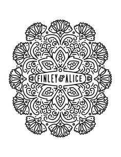 Whimsical Finley & Alice logo by @Keith Davis Young