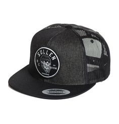 Sullen Clothing Switchblade Snapback Hat Mens Trucker Black Baseball Cap…
