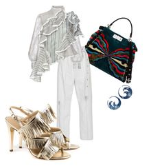 """""""Venetian Glam"""" by perlaformentini on Polyvore featuring Fendi and Zimmermann"""