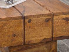 Wohnling Couchtisch Sira WL1.755 aus Sheesham Massivholz #Wohnzimmertisch #Dekoration #Holz #Ablagemöglichkeit #Wohnidee