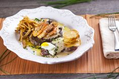 Bife do lombo com gambas, ideal para o jantar de hoje. Estão de acordo? ;)