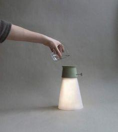 WAT : La lampe qui fonctionne avec de l'eau