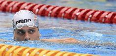 Equipe da natação e caçula da delegação fazem estreia brasileira em Londres
