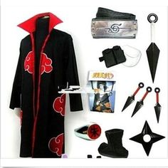 Sakura Naruto Video Game Necktie Neck Tie Anime Manga Child Cosplay Gift