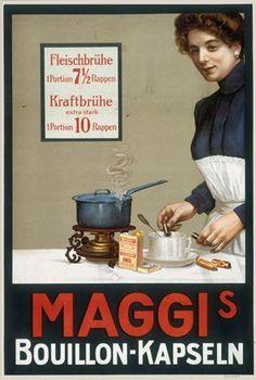 Vintage Plates, Vintage Ads, Poster Vintage, Old Scool, Maggi, Old Advertisements, Retro Ads, Flyer, Advertising Poster