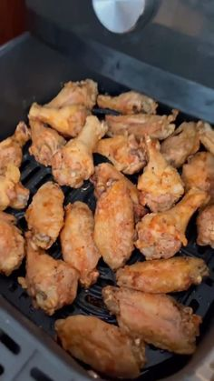 Air Fryer Dinner Recipes, Air Fryer Recipes Easy, Fun Baking Recipes, Cooking Recipes, Air Frier Recipes, Food Wishes, Food Obsession, Chicken Wing Recipes, Easy Snacks