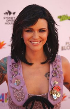 Green Eyes and Dark Hair...Should I give in to the dark side again....?!   Ruby Rose Hair