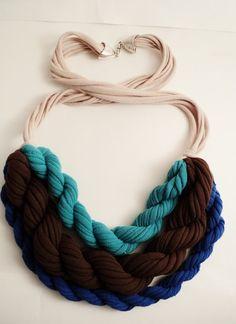 diy necklace... cute