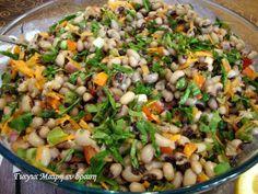 φασολια πιαφ1 Veggie Soup, Salad Bar, Savoury Dishes, Vegan Vegetarian, Salads, Brunch, Food And Drink, Appetizers, Rice