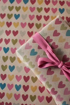 Full of Hearts | Wrapping Paper | Gift Wrap | 3 Sheets | Toodles Noodles by ToodlesNoodles on Etsy https://www.etsy.com/listing/80512579/full-of-hearts-wrapping-paper-gift-wrap